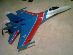 SUKHOI SU-27 FLANKER 2 model airplane plan