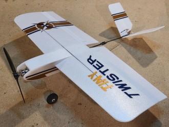 Tiny Twister model airplane plan