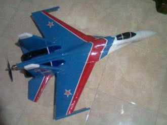 SU-27 FLANKER PART 1 model airplane plan