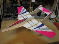 AlleyCat model airplane plan
