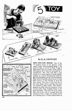 5-motors model airplane plan