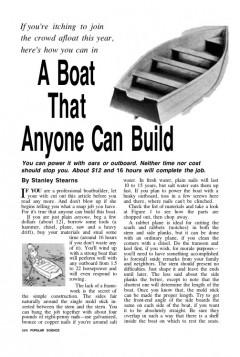 anyonesboat model airplane plan