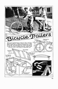 bike-trailer model airplane plan