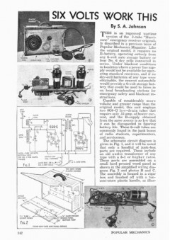 blackout-kit model airplane plan
