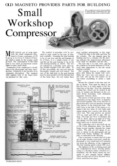 compressor model airplane plan