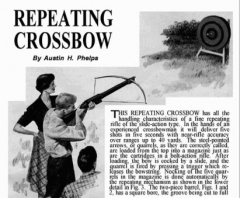 crossbowfull model airplane plan