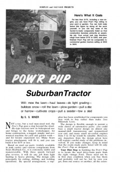 garden-tractor model airplane plan