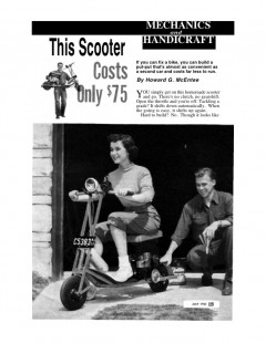 gas-scooter model airplane plan
