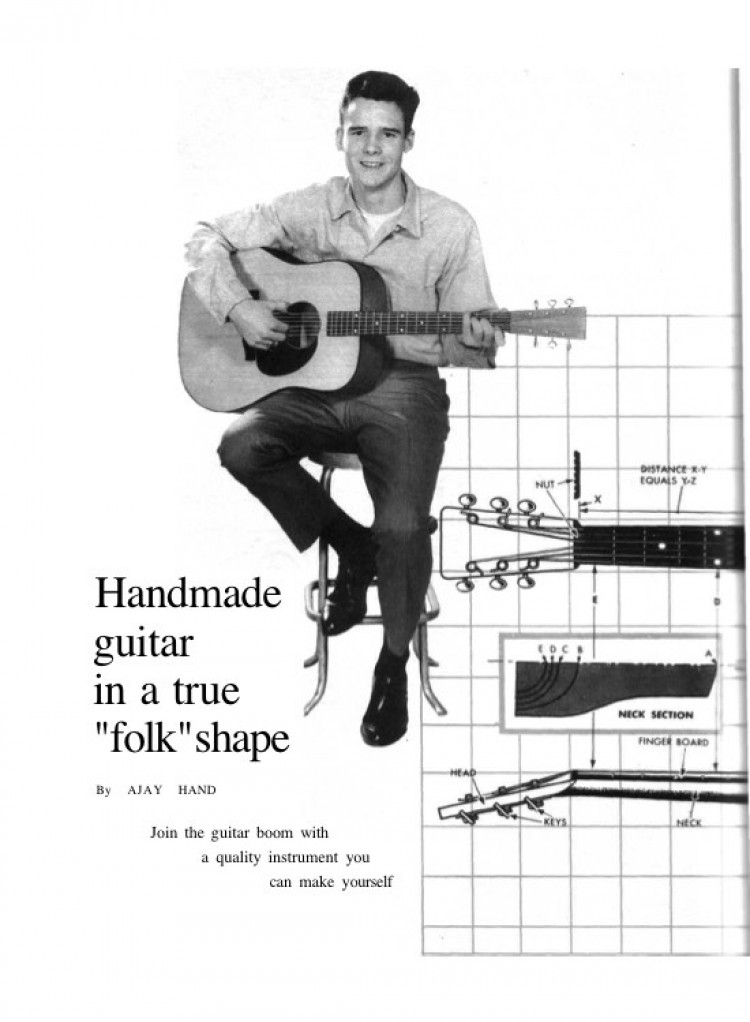 guitar model airplane plan