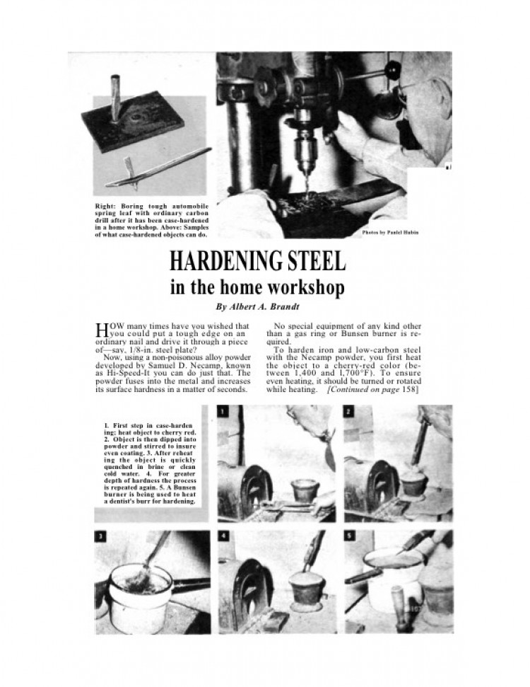 hardeningsteel model airplane plan
