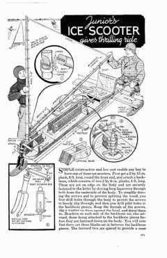 ice-scooter model airplane plan
