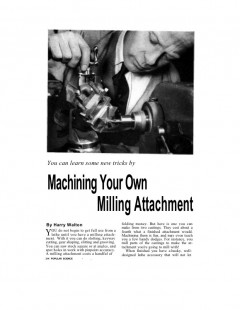 lathe-millingattachment model airplane plan