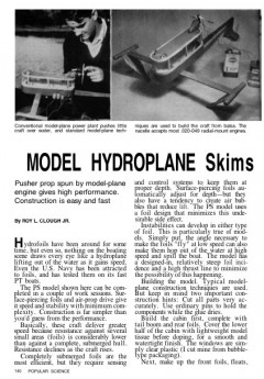 modelhydroplane model airplane plan