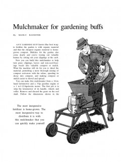 mulchmaker model airplane plan
