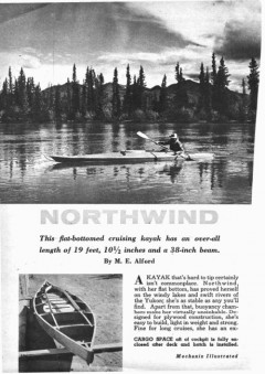 northwind-boat model airplane plan