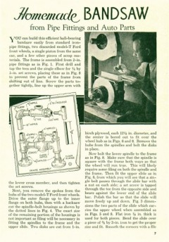 pipe-bandsaw model airplane plan