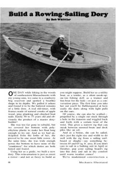 row-dory model airplane plan