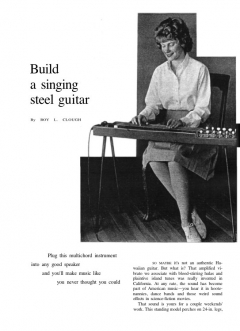 steelguitar model airplane plan