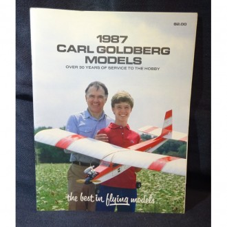 Carl Goldberg model airplane plan
