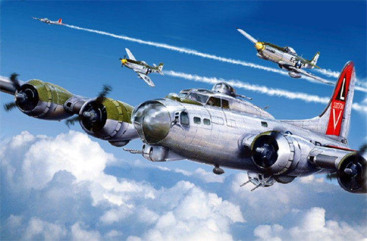 B17 Flying Fortress part 2 model airplane plan