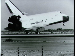 NASA Space Shuttle Enterprise model airplane plan