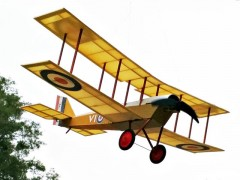 Airco D.H 6 model airplane plan