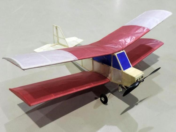 Bostonian Bipe model airplane plan