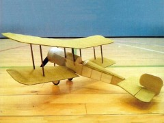 Bristol Scout model airplane plan