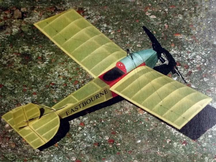 Eastbourne Monoplane model airplane plan