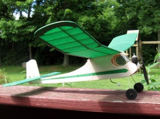 Little Sniffer model airplane plan