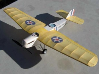 Martin MO-1 model airplane plan