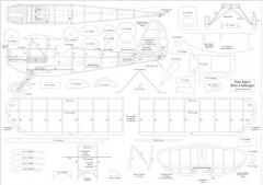 Mini Challenger model airplane plan