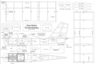 Mini Max model airplane plan