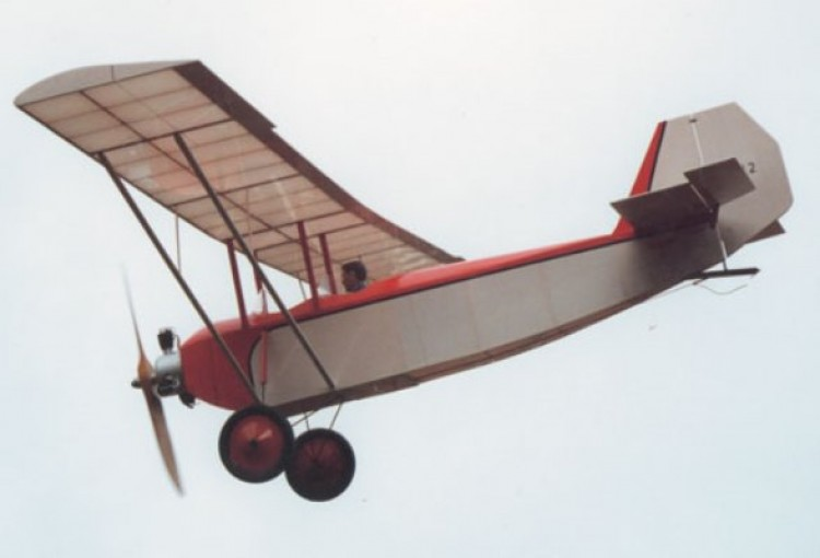 Sablier S-12 model airplane plan