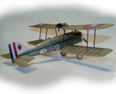 Se5a model airplane plan