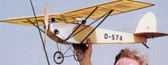 Stahlwerk model airplane plan