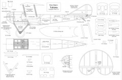 Tablette model airplane plan