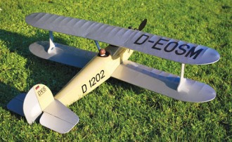 Udet Flamingo model airplane plan