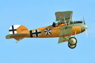 Albatros D4 model airplane plan