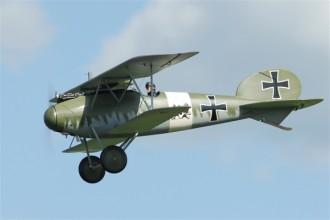 Albatros D5 model airplane plan