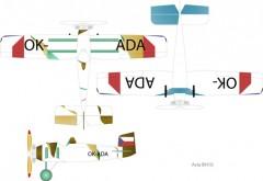 Avia BH10 model airplane plan