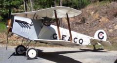 Avro Baby 534 model airplane plan