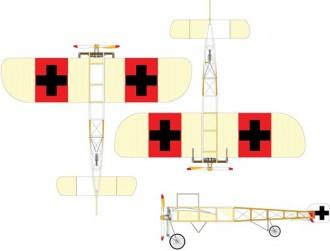 Bleriot 11 model airplane plan