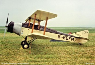 Caudron Luciole model airplane plan