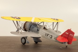 Curtiss Goshawk model airplane plan