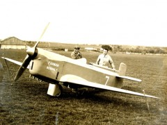 Farman F380 model airplane plan