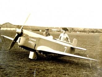 Farman F380 model airplane plan