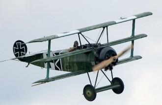 Fokker Dr1 Pistachio model airplane plan