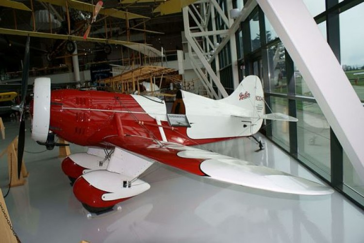 Gee Bee B model airplane plan