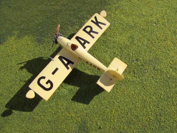 Henderson Glenny Gadfly model airplane plan